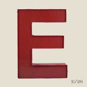Vintage Reclaimed Letter Light E