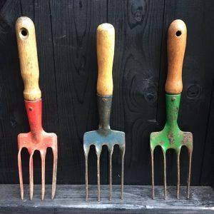 Vintage Garden Fork Tools