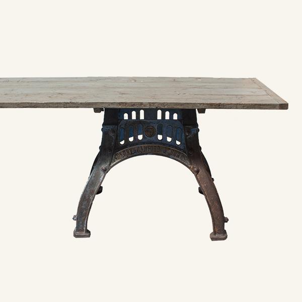 Vintage Industrial Long Table