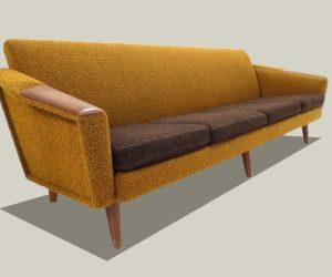 Vintage Mid Century Sofa