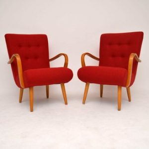 Vintage Mid Century Lounge Chairs