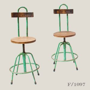 Vintage Industrial Machinist Stools