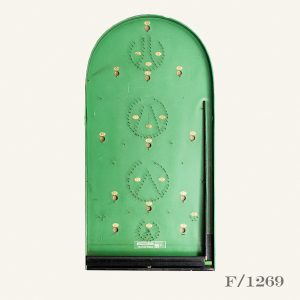 Vintage Wooden Bagatelle Board