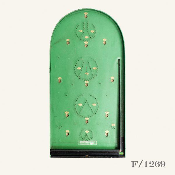 Vintage Wooden Bagatelle Board