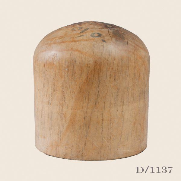 Vintage Wooden Hat Block