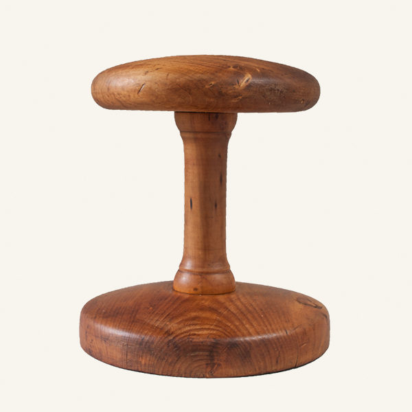 Vintage French Wooden Hat Block