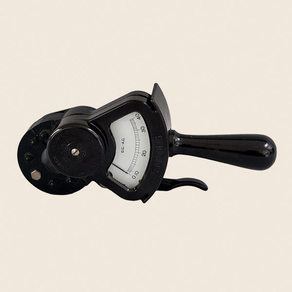 Vintage Hand Held Ammeter
