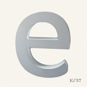 Reclaimed Halo Letter Light E