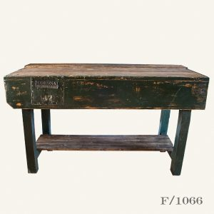 Vintage Wooden Wiorkbench