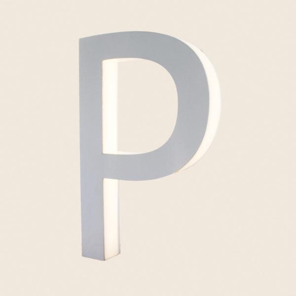 Reclaimed Halo Letter Light P