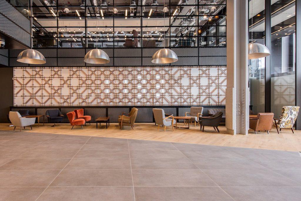 Amazon Reception Area