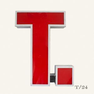 Reclaimed TGI Fridays Letter Light T