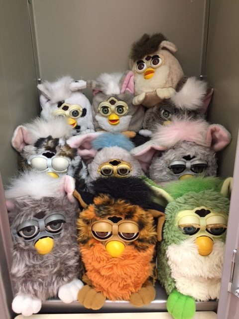 Vintage Furbies Netflix Stranger Things