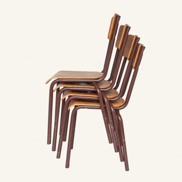 Vintage Stacking School Chair