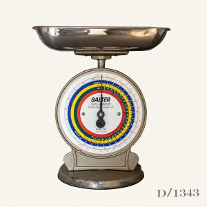 Vintage Salter Coin Checker Scales