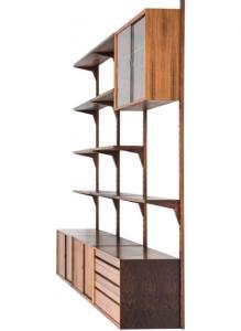 Mid Century Cadovious Bookcase