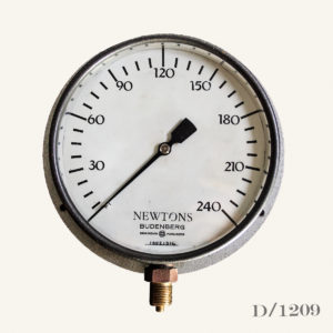 Vintage Newtons Pressure Gauge
