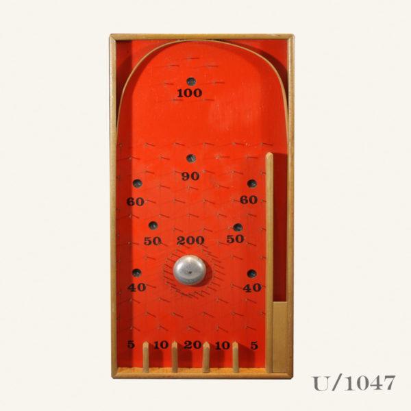 Retro Vintage Bagatelle Board