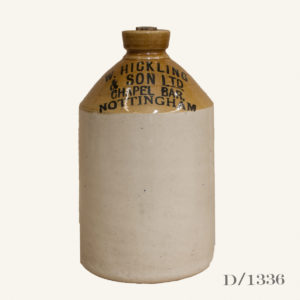 Vintage Stoneware Flagon