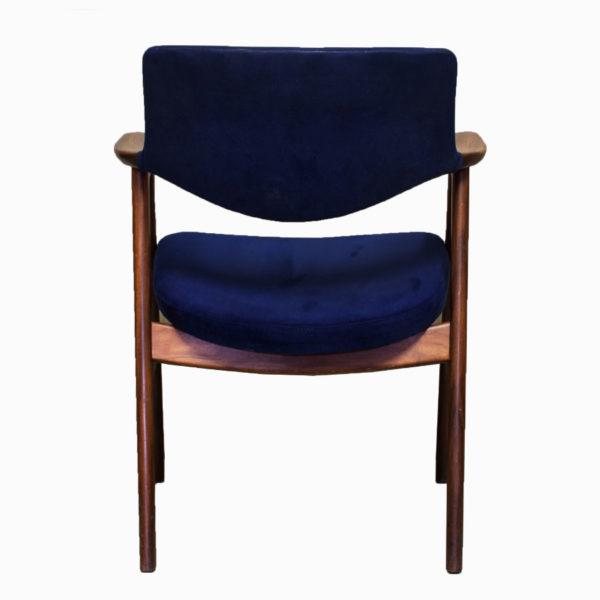 Mid Century Erik Kirkegaard Upholstered Dining Chair