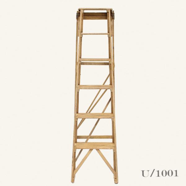 Vintage Wooden GPO Step Ladder