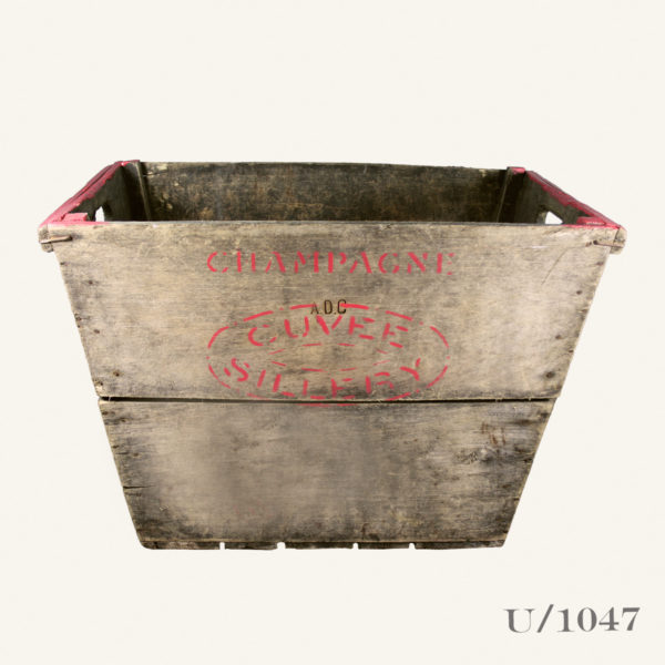 Vintage Wooden Champagne Crate