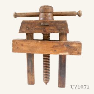Vintage Wooden Vice