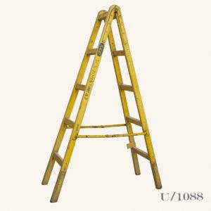 Vintage Industrial Large Wooden Ladder