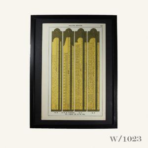 Framed Print of Boxwood Rules