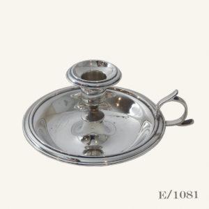 Vintage Silverplate Candle Holder