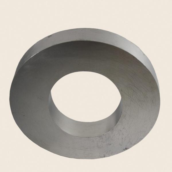 Large Reclaimed Polished Metal Letter O