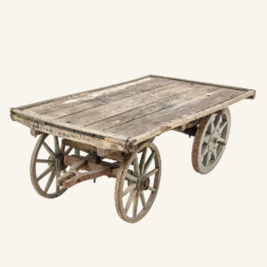 Antique Wooden Hand Cart