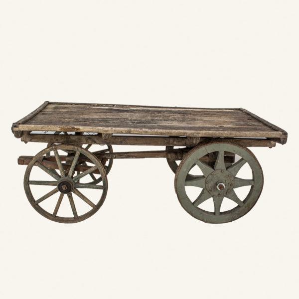 Antique Wooden Hand Cart