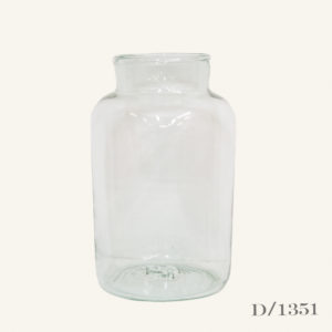 Vintage Glass Pickling Jar