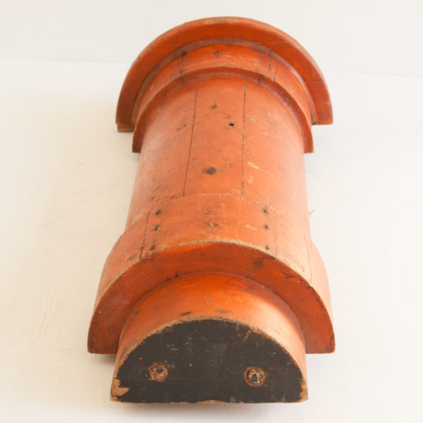 Vintage Industrial Wooden Foundry Moulds