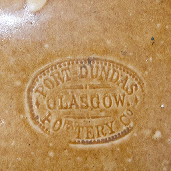 Large Vintage Stoneware Flagon