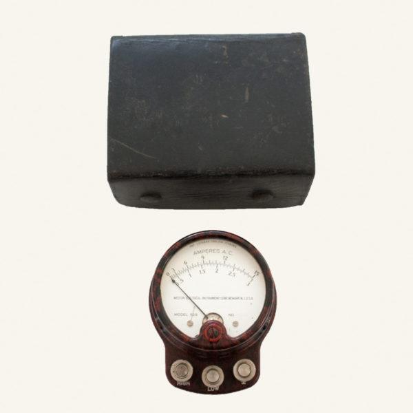 Vintage Bakelite A.C. Voltmeter