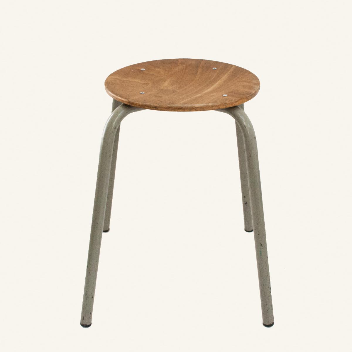 Wondrous Set Of 2 Vintage Stacking Stools Theyellowbook Wood Chair Design Ideas Theyellowbookinfo