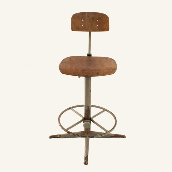 Vintage Industrial Swivel Office Chair