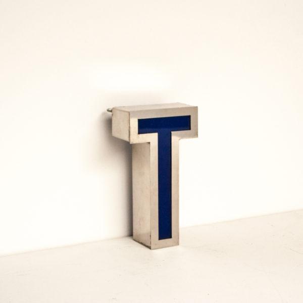 Reclaimed Small Letter Light T