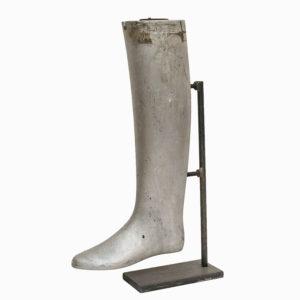 Vintage Cast Aluminium Boot Mould