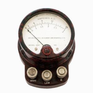 Vintage Bakelite A.C. Voiltmeter