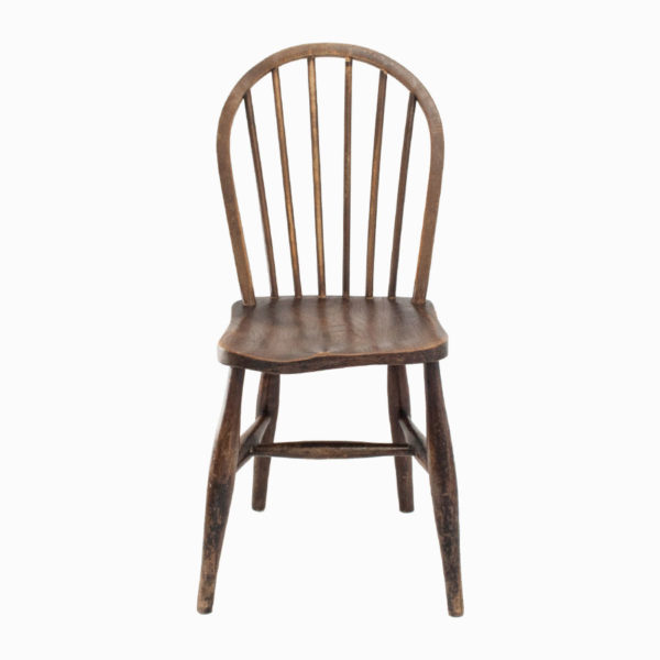 Antique Spindle Back Wooden Chair