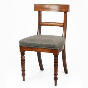 Antique Upholstered Dining Chair