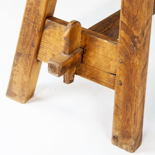 Victorian Narrow Kitchen Farmhouse Table
