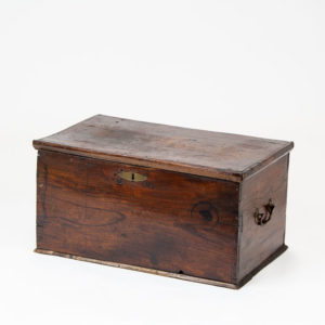 Antique Wooden Storage Chest