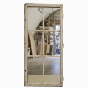Large Vintage Window Mirror