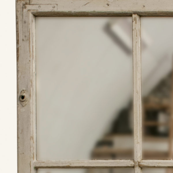 Large Vintage Window Mirror