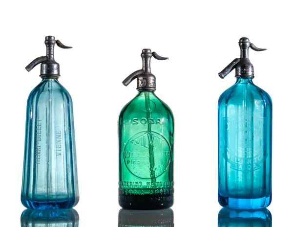 Vintage Glass Soda Syphon