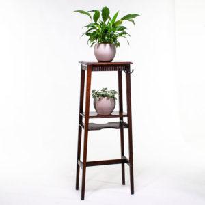 Arts & Craft Vintage Wooden Plant Pot Stand